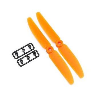 2 helices gemfan 5x3 orange horaire cw