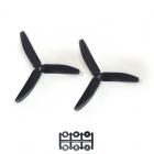2 hélices HQProp 5x4x3 noires