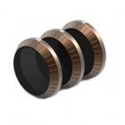 Le pack de 3 filtres Shutter Collection - PolarPro se compose de trois filtres ND (ND8, ND16 et ND32)