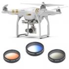 Ce pack est un incontournable pour optimiser vos prises de vues aériennes : filtre gradué bleu, filtre gradué orange et filtre gradué gris.