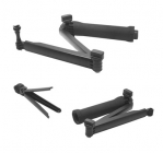 3-Way Adjustable Bracket Hand Grip Pole Extension Arm Tripod Set, for GoPro Hero 4/3+/3/2/1