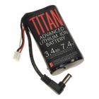 LiPo 3400 mAh 7.4V Titan pour Fatshark