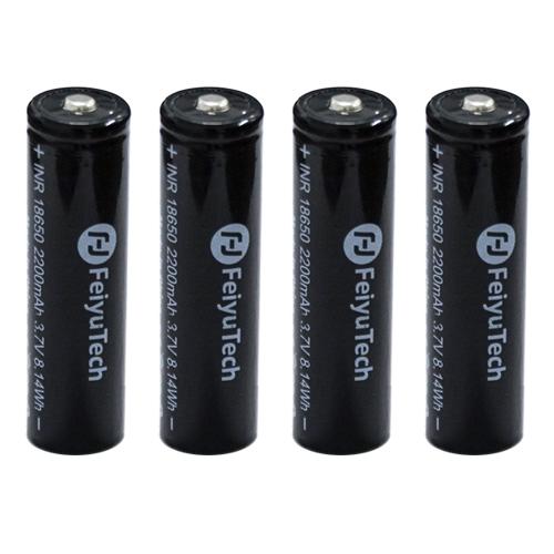 4 batteries FY-18650 Feiyu pour série AK