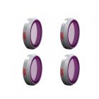 4 Filtres ND Professional pour DJI Mavic 2 Zoom - PGYTECH
