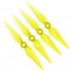 4 Hélices bipales Racekraft 5038 DCS jaune