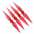 4 Hélices bipales Racekraft 5038 DCS rouge