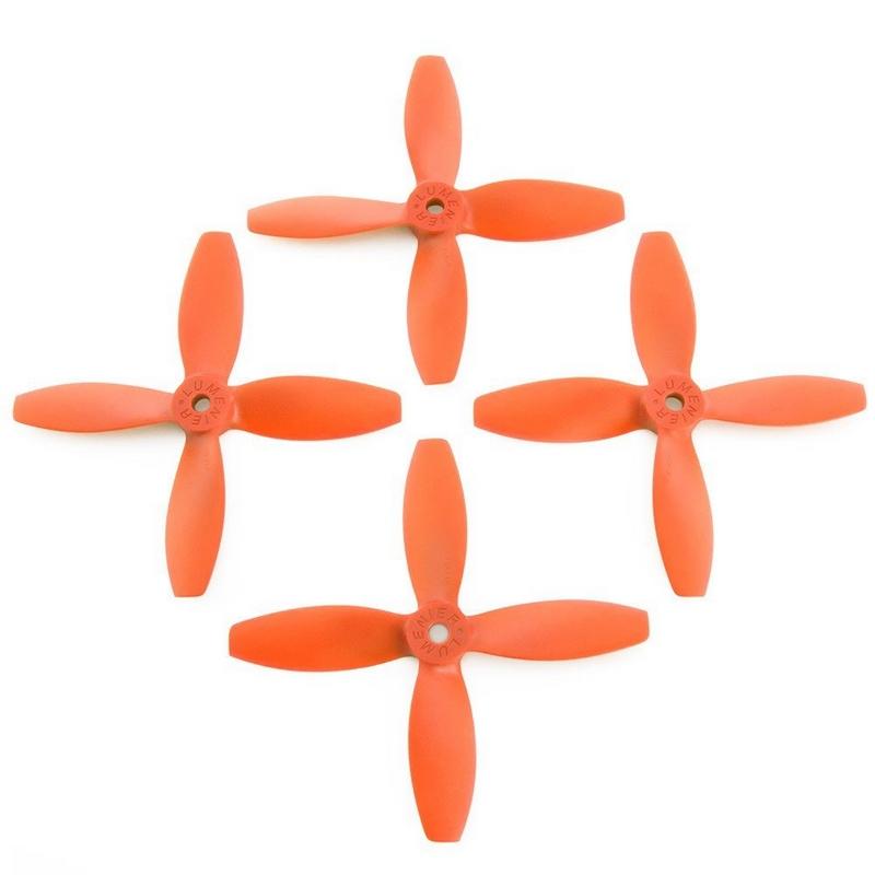 4 hélices Blade 4x4x4 Lumenier hélices oranges
