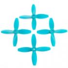 4 hélices Blade 4x4x4 Lumenier hélices bleues