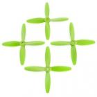 4 hélices Blade 5x4x4 Lumenier hélices vertes
