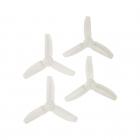 4 Hélices DP 3x3x3 HQProp en PolyCarbonate  transparente