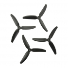 4 Hélices DP 5X4X3V1S HQProp en PolyCarbonate noire