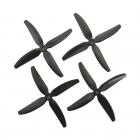 4 Hélices DP 5X4X4V1S HQProp en PolyCarbonate noire