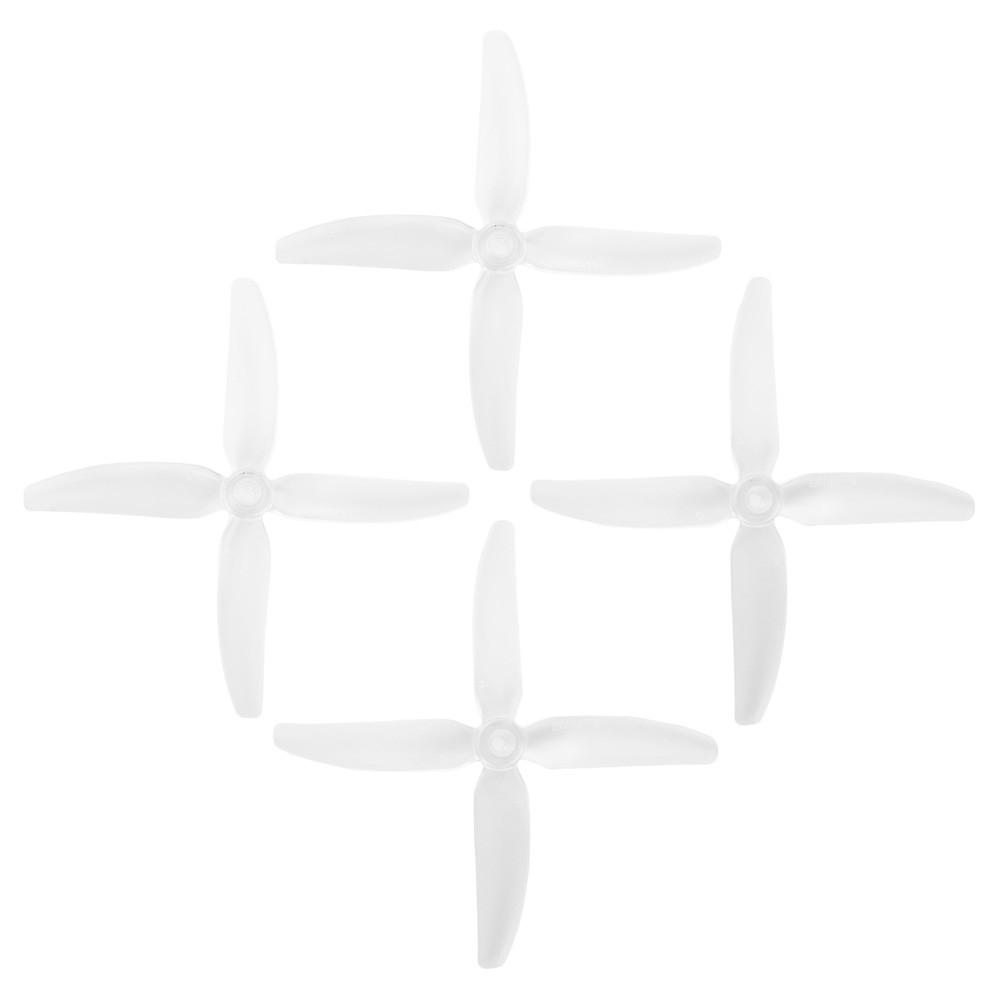 4 Hélices DP 5X4X4V1S HQProp en PolyCarbonate transparente