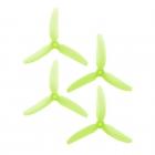 4 hélices DPS 5X4.3X3V1S HQProp Poly Carbonate verte