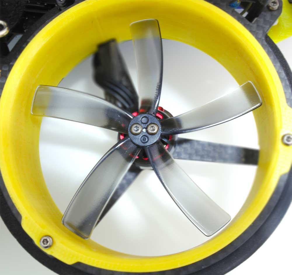 4 Hélices Duct T75MMx5 pour cinewhoop - HQprop
