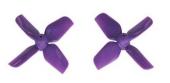 4 Hélices HQProp 1.6X1.6X4 pour Micro Whoop - Diamètre 1,5mm