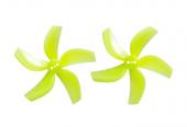 4 hélices pentapales Gemfan D63