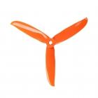 4 Hélices tripales DALprop CYCLONE T5249C orange