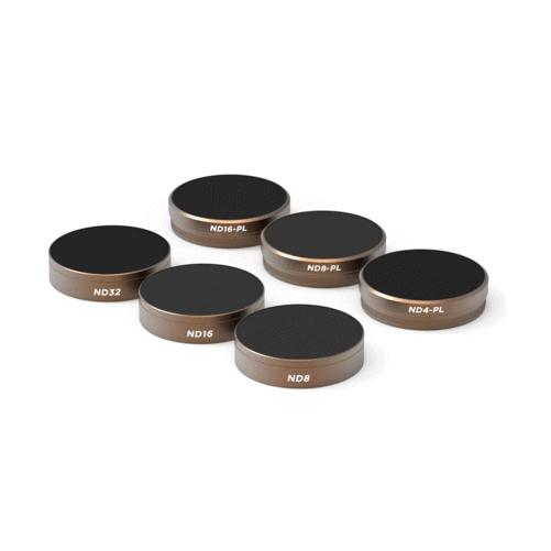 6 filtres Phantom 4 Pro Cinéma Séries - Polar Pro vue de biais