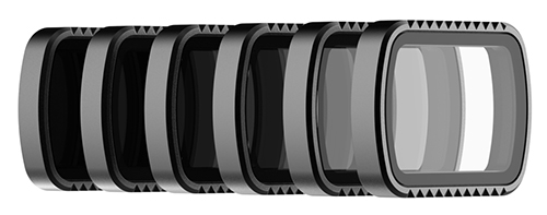 6 Filtres pour DJI Osmo Pocket Standard Series - Polar Pro
