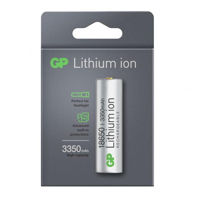 Accu Li-ion 18650 3350mAh - GP Batteries
