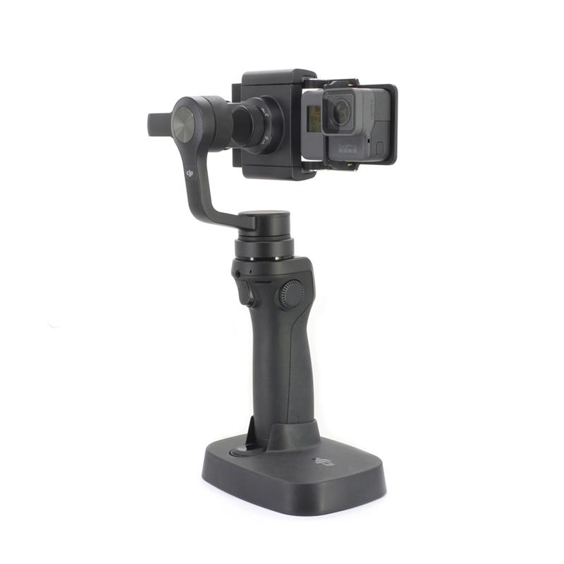GoPro Hero5 Black montée sur DJI Osmo Mobile