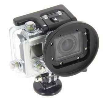 Adaptateur filtre 58mm pour caisson Hero 3