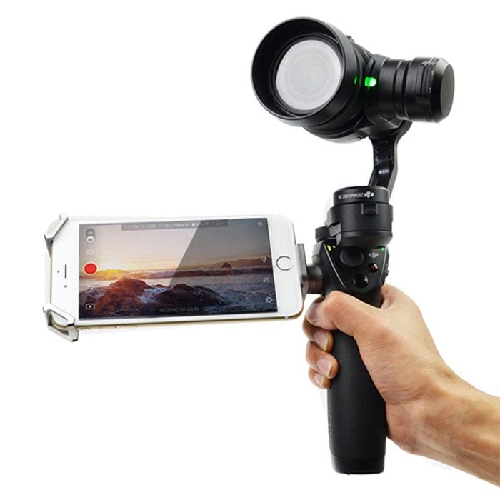 Adaptateur Osmo pour caméra X5 monté sur le stabilisateur