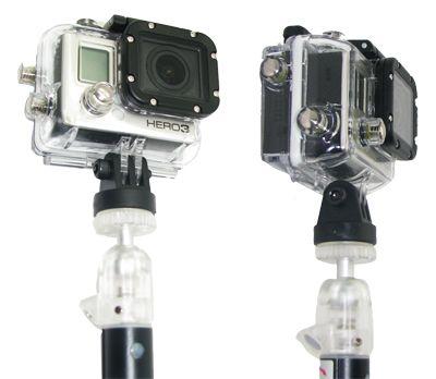 Adaptateur pied photo avec kit de visserie pour GoPro