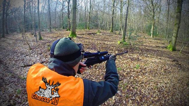 Alexis de chasseHD en pleine séance de chasse