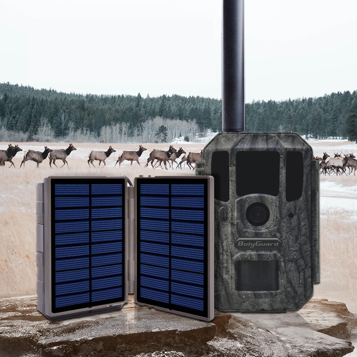 Alimentation Solar power bank BC-02 pour piège photographique
