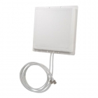 Antenne Patch double 11 dBi 2,4 GHz croisée