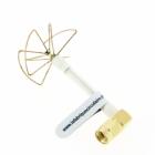 Antenne Pentalobe SL 5.8GHz coudée made in France La Fabrique Circulaire
