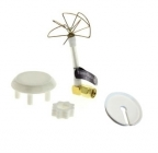 Antenne SL Pentalobe coudée 5,8 Ghz - RP-SMA