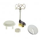 Antenne SL PinWheel 5,8 Ghz coudée - RP-SMA