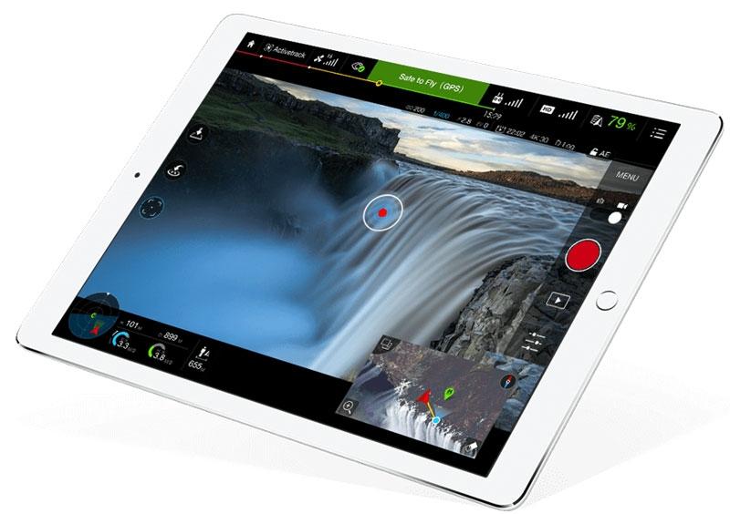 Application DJI Go pour iOS et Android