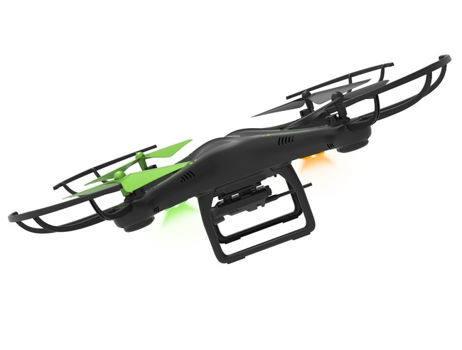 Archos Drone en vol - vue de côté