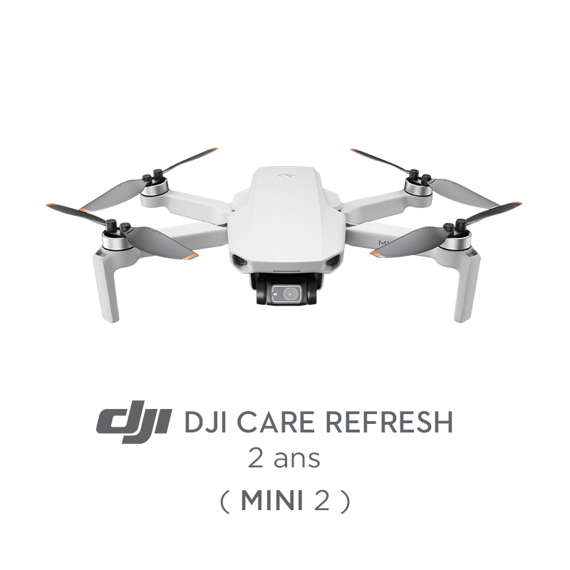 Assurance DJI Care Refresh pour DJI Mini 2 (2 ans)