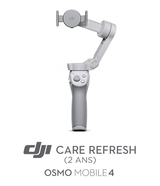 Assurance DJI Care Refresh pour Osmo Mobile 4 (2 ans)