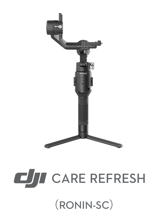 Assurance DJI Care Refresh pour Ronin-SC (1 an)