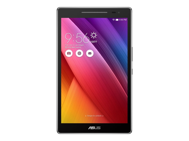 Tablette Asus ZenPad 8.0 Z380M - vue en mode vertical de face