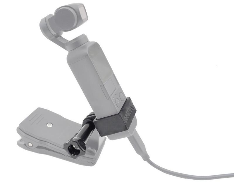 Bague de fixation monté sur DJI Osmo Pocket