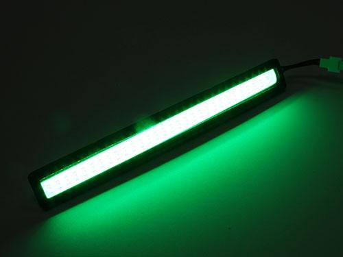 Barre LED MIKO 14 cm de couleur verte