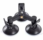 Triple ventouse articulé pour stabilisateur steadycam gimbal DJI Osmo (base seule)