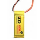 Batterie 1300 mAh 4S 100C XT60 Gold Edition - KD