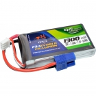 Batterie 1300mAh 2S 20C  EC3 - 9,62 Wh