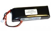 Batterie 2S 2500 mAh pour radiocommande Splash Drone 3