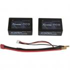 Batterie 2S Gens Ace 5200mAh 40C SaddlePack