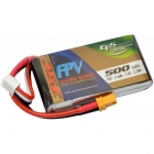 Batterie 500mAh 2S 75C XT30 - EPS