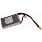 Batterie 500mAh 2S 75C XT30 - vue arrière